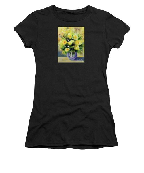 Yellow Roses Women's T-Shirt