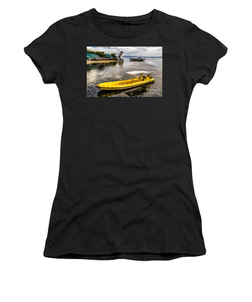 Yellow Tour Boat Women's T-Shirt