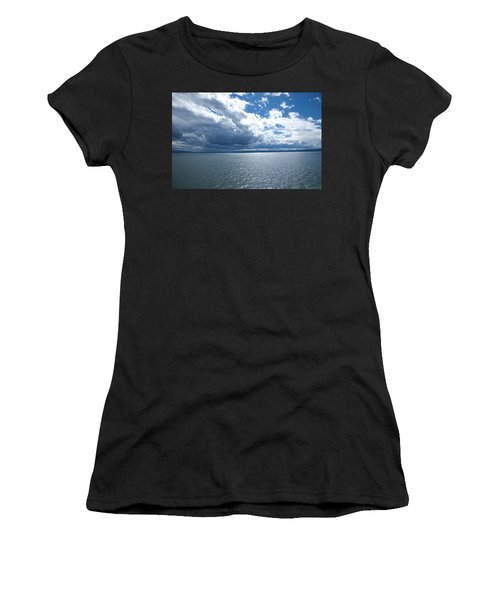 Yellowstone Lake Women's T-Shirt (Athletic Fit)