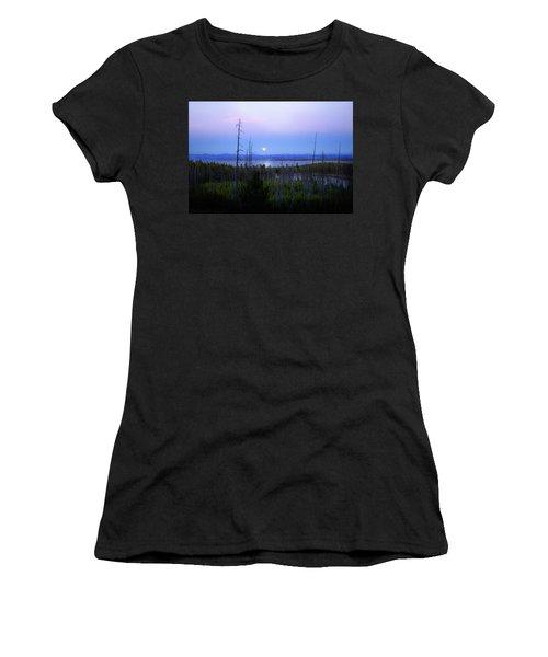 Yellowstone Moon Women's T-Shirt