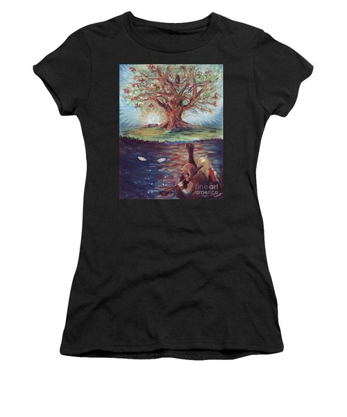 Yggdrasil - The Last Refuge Women's T-Shirt (Athletic Fit)