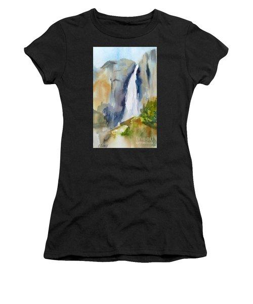 Yosemite Falls Springtime Women's T-Shirt