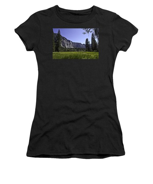 Yosemite Meadow Women's T-Shirt (Athletic Fit)