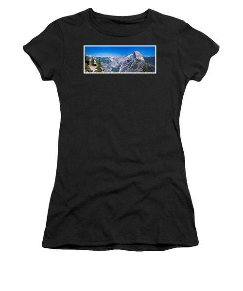 Yosemite Valley From Glacier Point Women's T-Shirt (Athletic Fit)