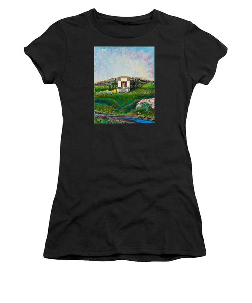 You Are The Temple Of God Women's T-Shirt (Athletic Fit)