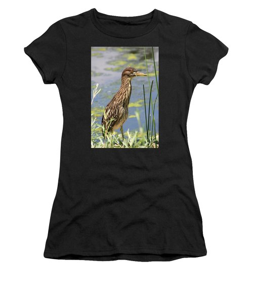 Young Heron Women's T-Shirt (Athletic Fit)