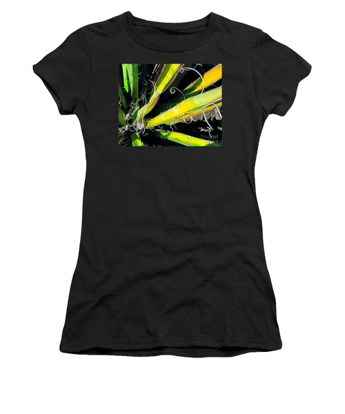 Yucca Spirals Women's T-Shirt (Athletic Fit)