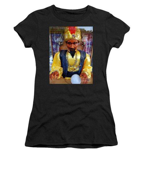 Women's T-Shirt (Junior Cut) featuring the photograph Zoltar by Ed Weidman