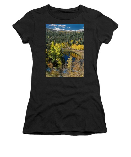 Fall Color On Bobcat Pass Women's T-Shirt (Athletic Fit)