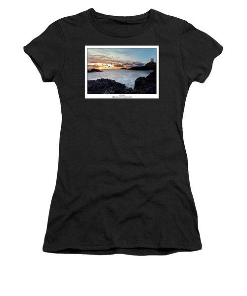 Llanddwyn Island Sunset Women's T-Shirt