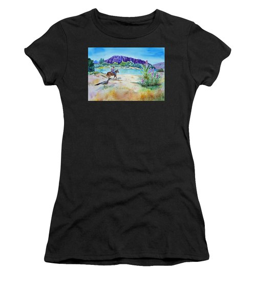 Texas - Along The Rio-grande Women's T-Shirt (Athletic Fit)