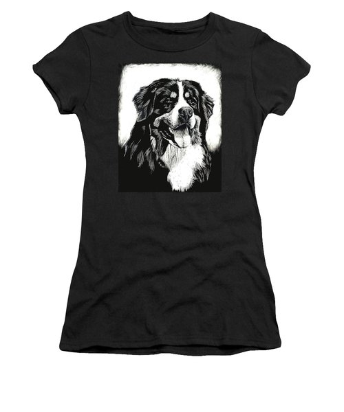 Bernese Mountain Dog Women's T-Shirt (Athletic Fit)