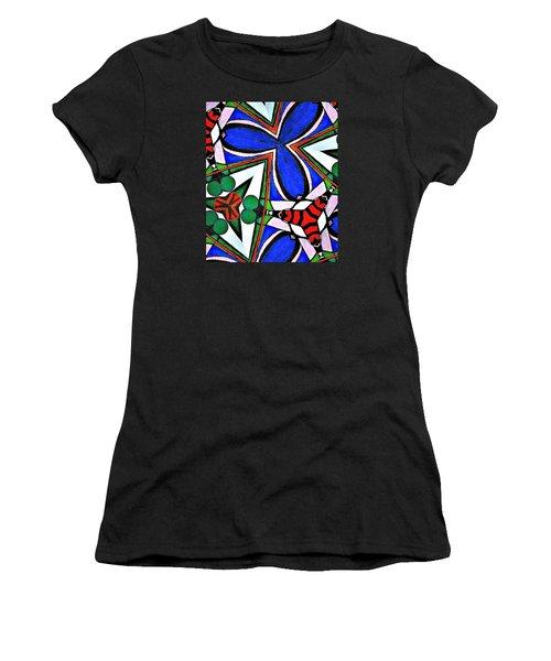 Calendoscopio Women's T-Shirt (Junior Cut) by Sandra Lira