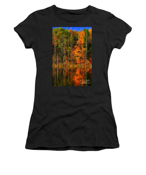 Coxsackie New York State Women's T-Shirt (Junior Cut) by Mark Gilman