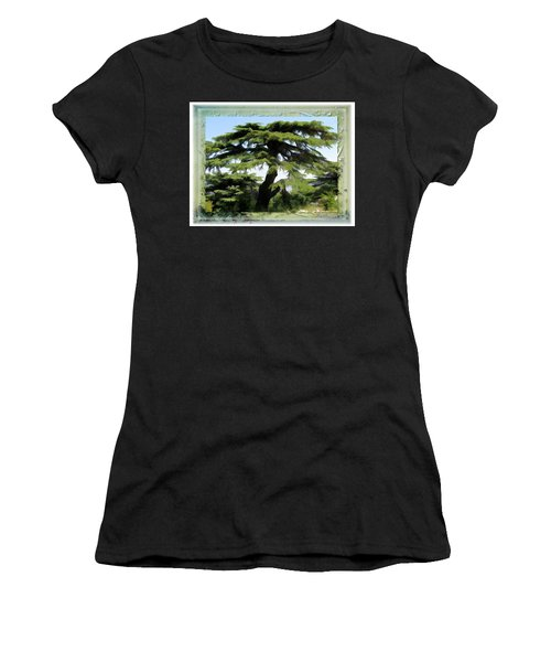 Do-00512 Cedar Forest Women's T-Shirt (Athletic Fit)