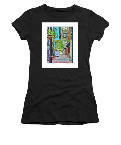 Downtown Willoughby Women's T-Shirt (Athletic Fit)