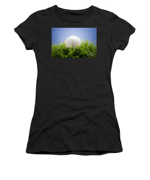 Golfball Women's T-Shirt (Athletic Fit)