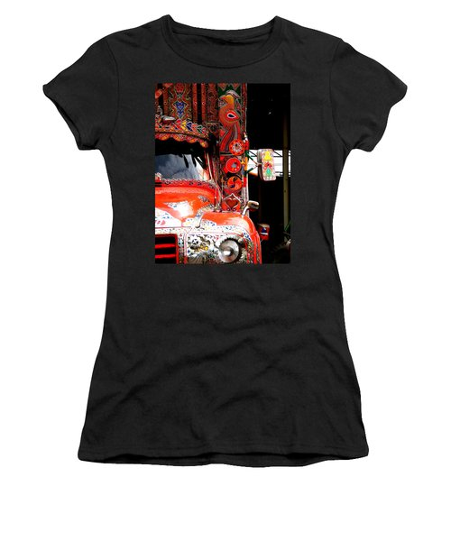 Jingly Truck Women's T-Shirt (Athletic Fit)