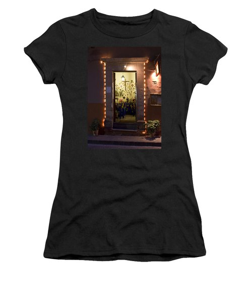 Las Cruces Women's T-Shirt (Junior Cut) by Lynn Palmer