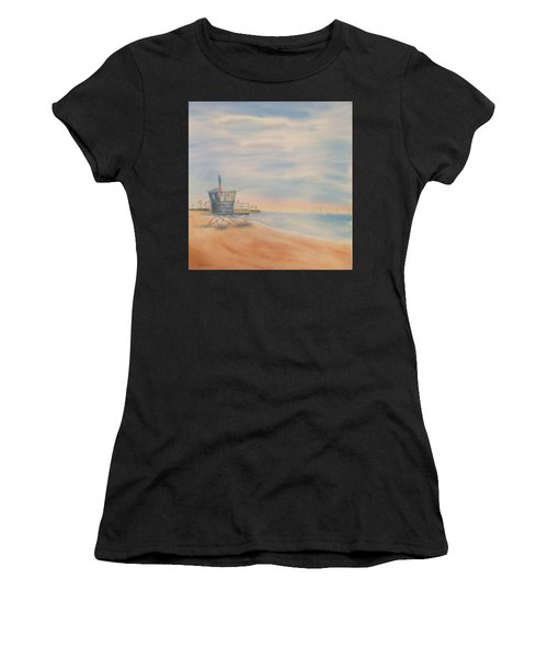 Morning By The Beach Women's T-Shirt