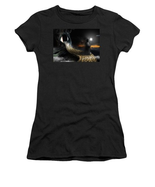 Night Guard Women's T-Shirt (Athletic Fit)