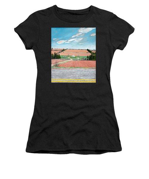 Red Soil On Prince Edward Island Women's T-Shirt