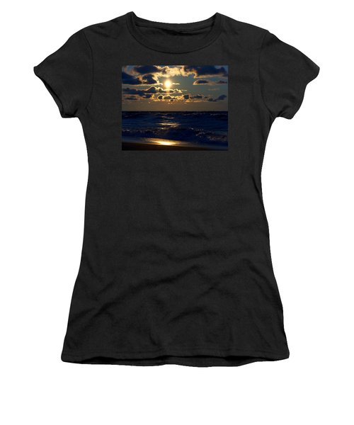 Sunset Over The City Women's T-Shirt (Athletic Fit)