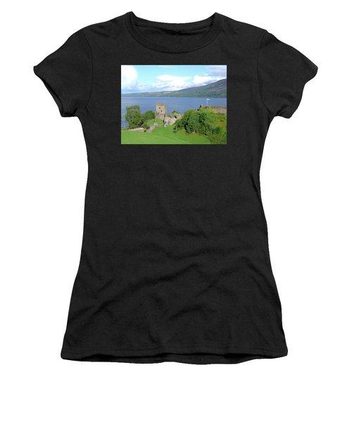 Urquhart Castle Women's T-Shirt (Athletic Fit)