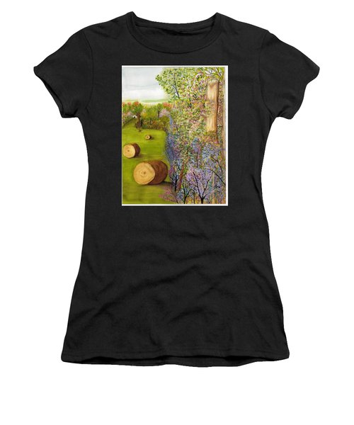 Dogwoods And Redbuds Women's T-Shirt (Athletic Fit)