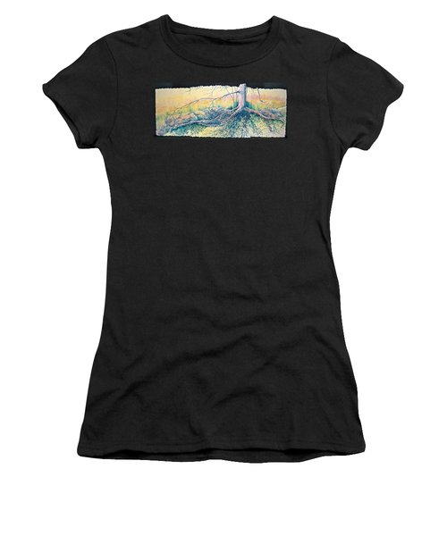 Rooted In Time Women's T-Shirt (Athletic Fit)