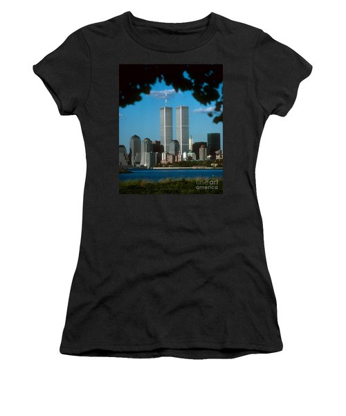 View From Liberty State Park Women's T-Shirt (Junior Cut) by Mark Gilman
