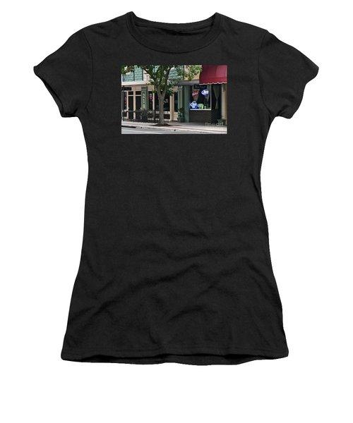 210 Pine Street Women's T-Shirt (Junior Cut) by Carol  Bradley