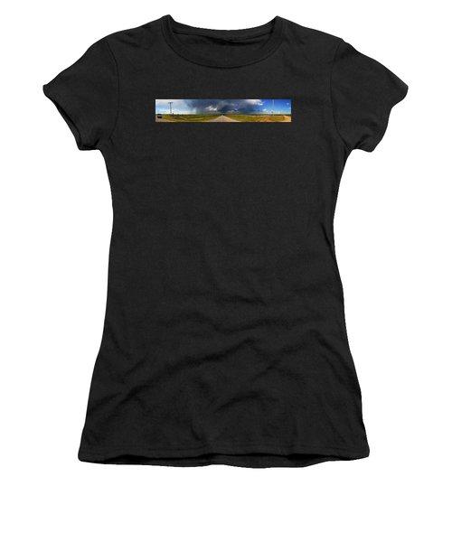 3x3 Women's T-Shirt (Athletic Fit)