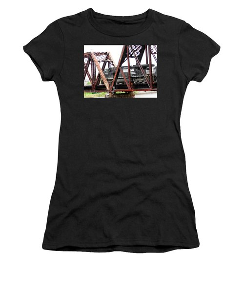 9215 Southern Cargo Train Women's T-Shirt (Junior Cut) by Ester  Rogers