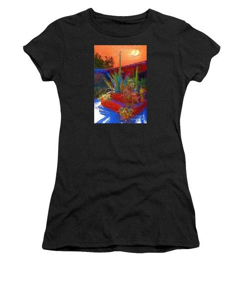 A Garden In Pozos Women's T-Shirt