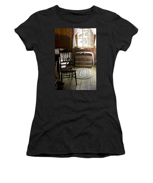 A Simpler Life Women's T-Shirt (Junior Cut) by Lynn Palmer