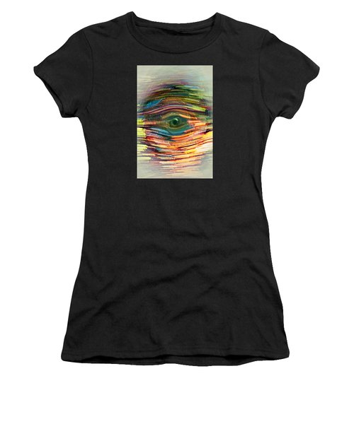 Abstract Eye Women's T-Shirt (Athletic Fit)