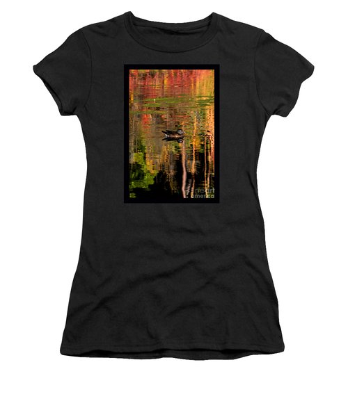 Adrift In Pastels Women's T-Shirt (Athletic Fit)