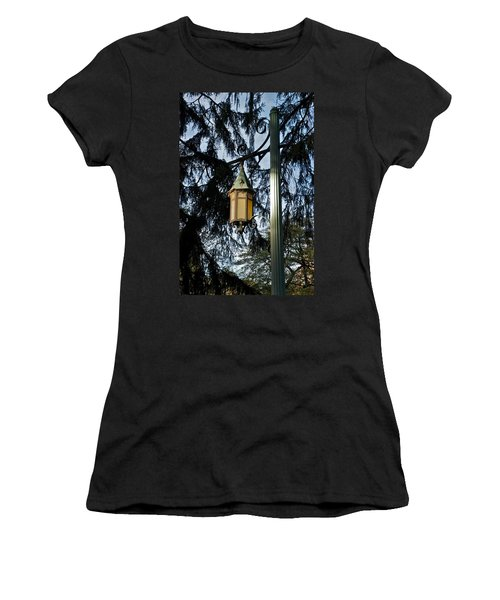 Women's T-Shirt (Junior Cut) featuring the photograph Akers Night by Joseph Yarbrough