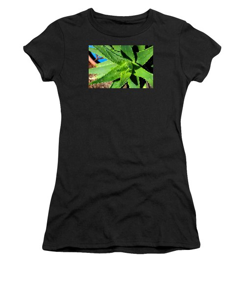 Aloe Women's T-Shirt (Athletic Fit)