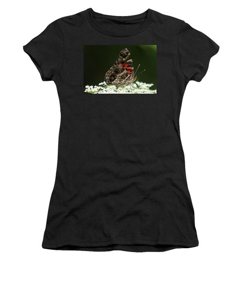 American Painted Lady Butterfly Women's T-Shirt