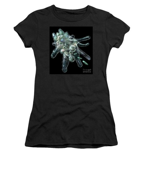 Amoeba Black Women's T-Shirt