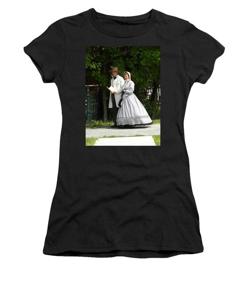 An Afternoon Stroll Women's T-Shirt