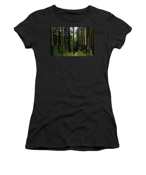 Aspens Banff National Park Women's T-Shirt (Athletic Fit)