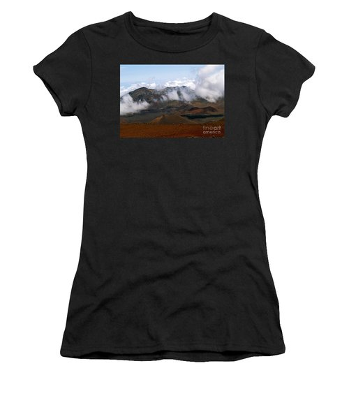 At The Rim Of The Crater Women's T-Shirt