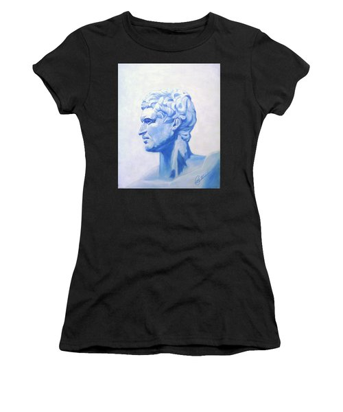Athenian King Women's T-Shirt (Athletic Fit)