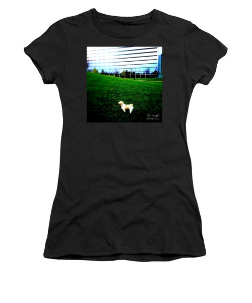 Women's T-Shirt (Junior Cut) featuring the photograph Atsuko Goes To School by Xn Tyler