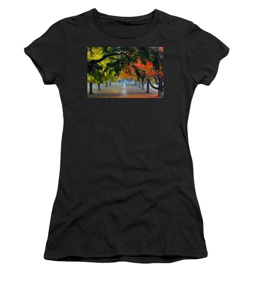 Autumn Canopy Women's T-Shirt (Athletic Fit)