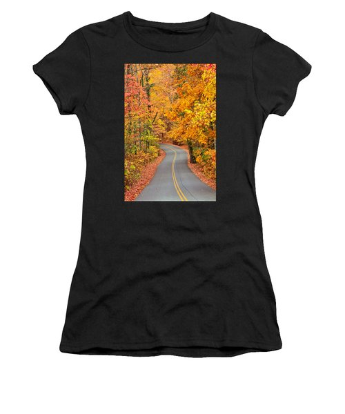 Autumn Drive Signal Mountain Women's T-Shirt