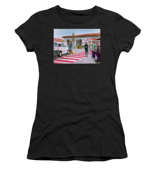 Bar Ristorante Mt. Etna Sicily Women's T-Shirt